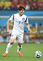 Kim Bo-Kyung (KOR),<br /> JUNE 26, 2014 - Football / Soccer :<br /> FIFA World Cup Brazil 2014 Group H match between South Korea 0-1 Belgium at Arena de Sao Paulo in Sao Paulo, Brazil. (Photo by SONG Seak-In/AFLO)