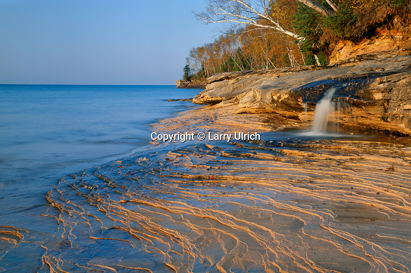 Pictured Rocks at Miners Beach<br />