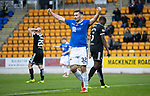 St Johnstone v Hamilton Accies&hellip;10.11.18&hellip;   McDiarmid Park    SPFL<br />Tony Watt celebrates Drey Wrights deflected cross that made it 2-0<br />Picture by Graeme Hart. <br />Copyright Perthshire Picture Agency<br />Tel: 01738 623350  Mobile: 07990 594431