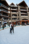 California: Skating rink, Northstar at Lake Tahoe.    Photo copyright Lee Foster.  Photo # cataho100234