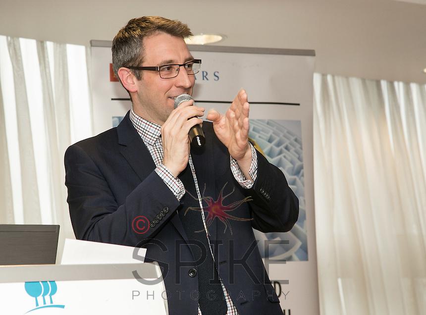 Keynote speaker Toby Redi from BioCity