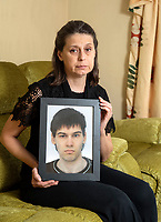 BNPS.co.uk (01202 558833)<br /> Picture: PhilYeomans/BNPS<br /> <br /> Elana Danailova holding a picture of her son Kristiyan Danailov.<br /> <br /> A distraught mother today called on the government to introduce stricter internet controls after her son was able to buy cyanide online and use it take his own life.<br /> <br /> Kristiyan Danailov, who was aged 21, invented a fake business name and emailed a company in Essex to send him the lethal substance in the post.<br /> <br /> According to his mother Elana Danailova, all her son had to do was tick a box on a website to confirm he was a legitimate trader in order for the poison to be dispatched.<br /> <br /> It arrived through his door days later and Mr Danailov was found dead in the bedroom of his family home in Bournemouth, Dorset.