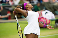 03-07-12, England, London, Tennis , Wimbledon,  Serena Wiliams