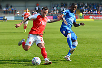 Fleetwood Town's Ross Wallace in action<br /> <br /> Photographer Richard Martin-Roberts/CameraSport<br /> <br /> The EFL Sky Bet League One - Fleetwood Town v Peterborough United - Friday 19th April 2019 - Highbury Stadium - Fleetwood<br /> <br /> World Copyright © 2019 CameraSport. All rights reserved. 43 Linden Ave. Countesthorpe. Leicester. England. LE8 5PG - Tel: +44 (0) 116 277 4147 - admin@camerasport.com - www.camerasport.com