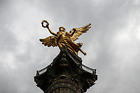 Monument to the Independence of Mexico. The Angel or The Angel of Independence. Sculpture located in the roundabout of Paseo de la Reforma in Mexico City. (Photo: Luis Gutierrez / NortePhoto.com)...<br /> Monumento a la Independencia de Mexico. El &Aacute;ngel o El &Aacute;ngel de la Independencia. Escultura ubicada en la glorieta del paseo de la Reforma en la Ciudad de M&eacute;xico. (Foto: Luis Gutierrez / NortePhoto.com).