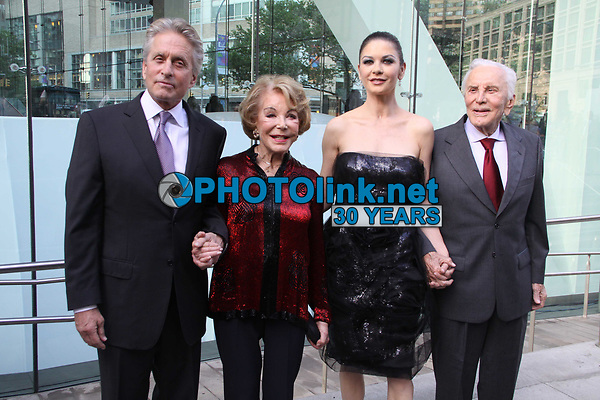 New York City<br /> CelebrityArchaeology.com<br /> 2010 FILE PHOTO<br /> CATHERINE ZETA JONES,MICHAEL DOUGLAS KIRK DOUGLAS and wife ANNE<br /> Photo By John Barrett-PHOTOlink.net<br /> -----<br /> CelebrityArchaeology.com, a division of PHOTOlink,<br /> preserving the art and cultural heritage of celebrity <br /> photography from decades past for the historical<br /> benefit of future generations.<br /> ——<br /> Follow us:<br /> www.linkedin.com/in/adamscull<br /> Instagram: CelebrityArchaeology<br /> Twitter: celebarcheology