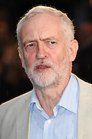 "Jeremy Corbyn<br /> at the London Film Festival 2016 premiere of ""Snowden"" at the Odeon Leicester Square, London.<br /> <br /> <br /> ©Ash Knotek  D3181  15/10/2016"
