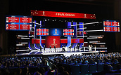 1st December 2017, State Kremlin Palace, Moscow, Russia; The Final Draw for the 2018 FIFA World Cup which took place in Moscows State Kremlin Palace.