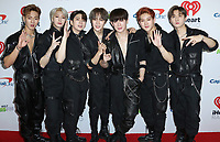 LOS ANGELES - NOVEMBER 30:  Monsta X at the KIIS FM's Jingle Ball 2018 Presented By Capital One on November 30, 2018 at the Forum in Los Angeles, California. (Photo by Scott Kirkland/PictureGroup)