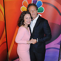 13 May 2019 - New York, New York - Fran Drescher and Steven Weber at the NBC 2019/2020 Upfront, at the Four Seasons Hotel.       <br /> CAP/ADM/LJ<br /> ©LJ/ADM/Capital Pictures