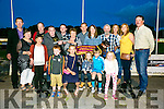 Winner of the Bobby Hickson Memorial Final at the Kingdom Greyhound Stadium on Saturday was Akila from Causeway, owned and trained by Collette O'Regan