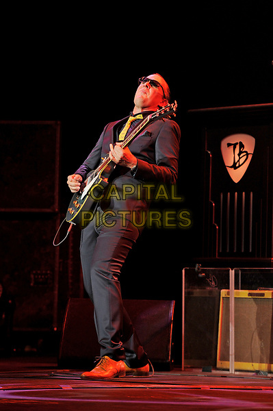 LONDON, ENGLAND - APRIL 21: Joe Bonamassa performing at Royal Albert Hall on April 21, 2017 in London, England.<br /> CAP/MAR<br /> &copy;MAR/Capital Pictures