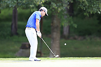 Brian Harman (USA) chips onto the 13th green during Thursday's Round 1 of the 2017 PGA Championship held at Quail Hollow Golf Club, Charlotte, North Carolina, USA. 10th August 2017.<br /> Picture: Eoin Clarke | Golffile<br /> <br /> <br /> All photos usage must carry mandatory copyright credit (&copy; Golffile | Eoin Clarke)