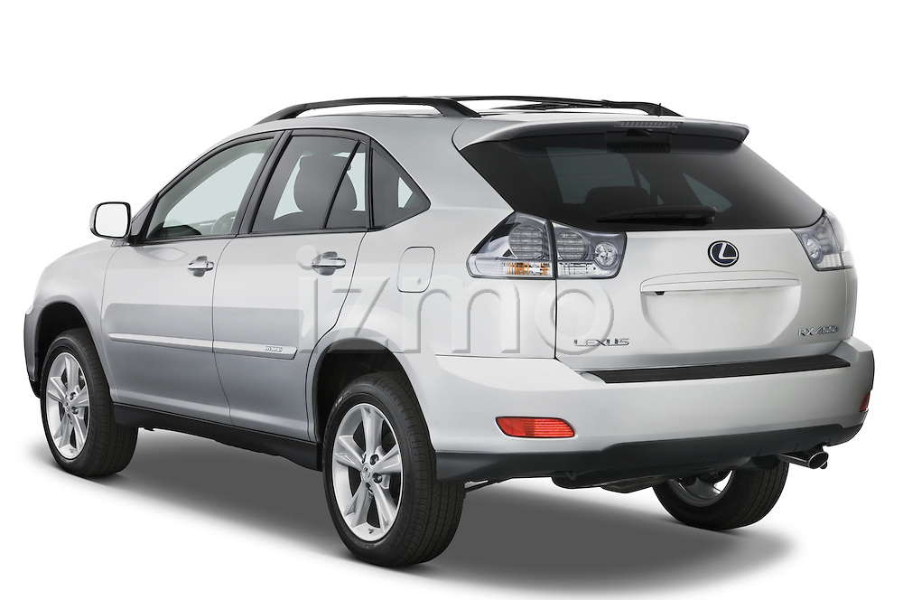 Rear three quarter view of a 2008 Lexus RX Hybrid