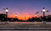 Washington Monument from the Grant Memorial Washington DC