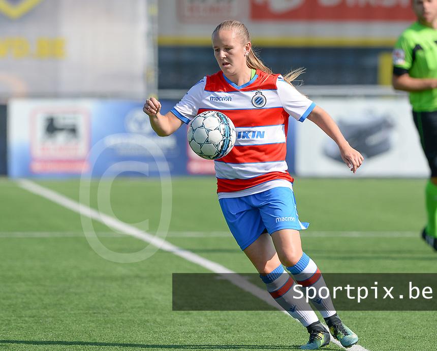Famkes Westhoek Merkem Diksmuide - Club Brugge Dames A : Elle Decorte  <br /> Foto David Catry | VDB | Bart Vandenbroucke