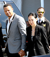 www.acepixs.com<br /> <br /> February 25 2017, Santa Monica<br /> <br /> Actor Terrence Howard and Miranda Pak arriving at the 2017 Film Independent Spirit Awards at the Santa Monica Pier on February 25, 2017 in Santa Monica, California<br /> <br /> By Line: Nancy Rivera/ACE Pictures<br /> <br /> <br /> ACE Pictures Inc<br /> Tel: 6467670430<br /> Email: info@acepixs.com<br /> www.acepixs.com