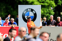 Peter Hanson (SWE) on the 12th during round 3 of the 2016 BMW PGA Championship. Wentworth Golf Club, Virginia Water, Surrey, UK. 28/05/2016.<br /> Picture Fran Caffrey / Golffile.ie<br /> <br /> All photo usage must carry mandatory copyright credit (© Golffile   Fran Caffrey)