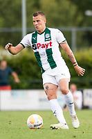 HAREN - Voetbal, FC Groningen - SM Caen, voorbereiding seizoen 2018-2019, 04-08-2018, FC Groningen speler Samir Memisevic