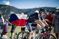 Michal Kwiatkowski (POL/Ineos Grenadiers) at the gravel section atop the Montée du plateau des Glières (HC/1390m)<br /> <br /> Stage 18 from Méribel to La Roche-sur-Foron (175km)<br /> <br /> 107th Tour de France 2020 (2.UWT)<br /> (the 'postponed edition' held in september)<br /> <br /> ©kramon