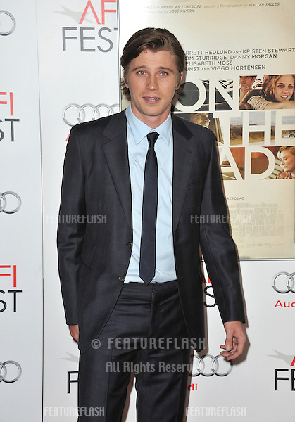 """Garrett Hedlund at the AFI Fest premiere of his movie """"On The Road"""" at Grauman's Chinese Theatre, Hollywood..November 3, 2012  Los Angeles, CA.Picture: Paul Smith / Featureflash"""