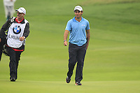 Edoardo Molinari (ITA) walks onto the 9th green during Thursday's Round 1 of the 2014 BMW Masters held at Lake Malaren, Shanghai, China 30th October 2014.<br /> Picture: Eoin Clarke www.golffile.ie
