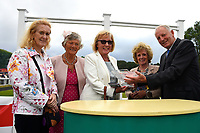 during Ladies Evening Racing at Salisbury Racecourse on 15th July 2017