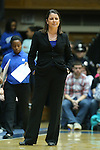 03 March 2013: Duke head coach Joanne P. McCallie. The Duke University Blue Devils played the University of North Carolina Tar Heels at Cameron Indoor Stadium in Durham, North Carolina in a 2012-2013 NCAA Division I and Atlantic Coast Conference women's college basketball game. Duke won the game 65-58.