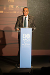 FEB President Jose Luis Saez during the 80th Aniversary of the National Basketball Team at Melia Castilla Hotel, Spain, September 01, 2015. <br /> (ALTERPHOTOS/BorjaB.Hojas)