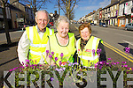 Pictured are members of Castleisland Tidy Towns, l-r: Terence McQuinn, Sheila Hannon and Mary Walsh..