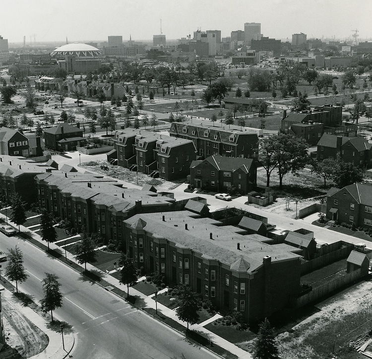 UNDATED..Redevelopment.E Ghent South (A-1-1)..View looking South.Downtown & Norfolk Scope in distance...NEG#.NRHA#..