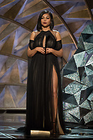 Taraji P. Henson presents during the live ABC Telecast of The 90th Oscars&reg; at the Dolby&reg; Theatre in Hollywood, CA on Sunday, March 4, 2018.<br /> *Editorial Use Only*<br /> CAP/PLF/AMPAS<br /> Supplied by Capital Pictures