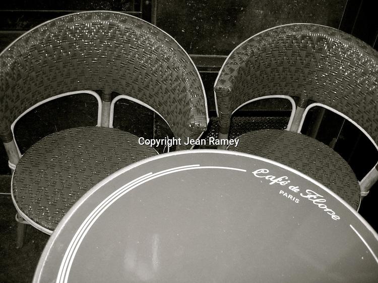 Parisian Cafe Chairs