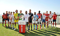 Launch of the Emirate Dubai Sevens held at Crowne Plaza at Festival City , Dubai. U.A.E on November