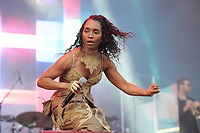 LONDON, ENGLAND - JUNE 3: Rozonda Thomas of 'TLC' performing at Mighty Hoopla, Brockwell Park, Brixton on June 3, 2018 in London.<br /> CAP/MAR<br /> &copy;MAR/Capital Pictures