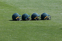 Four Notts helmets in the field during Essex CCC vs Nottinghamshire CCC, Specsavers County Championship Division 1 Cricket at The Cloudfm County Ground on 15th May 2019