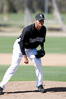 Alan Derott - Colorado Rockies - 2009 spring training.Photo by:  Bill Mitchell/Four Seam Images