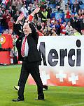 EM Fotos Fussball UEFA Europameisterschaft 2008: Schweiz - Portugal
