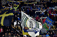 Frosinone supporters chher on ahead the Serie A 2018/2019 football match between Frosinone and Lazio at stadio Benito Stirpe, Frosinone, February 4, 2019 <br />  Foto Andrea Staccioli / Insidefoto