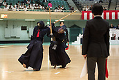 15th July 2017;  9th All Japan Interprefecture Ladies KENDO Championship, held at the Nippon Budokan, Tokyo, Japan on July 15th, 2017. The tournament involved female teams from the Kendo Federations of each prefecture competing in different age groups. The final stage was between the regions Gifu and Kagoshima, and Gifu won 3-2.