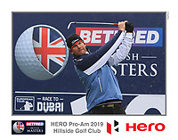 Robert Karlsson (SWE) on the 10th tee during the Pro-Am of the Betfred British Masters 2019 at Hillside Golf Club, Southport, Lancashire, England. 08/05/19<br /> <br /> Picture: Thos Caffrey / Golffile<br /> <br /> All photos usage must carry mandatory copyright credit (© Golffile | Thos Caffrey)