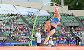 June 15th 2017, Bislett Stadion , Oslo, Norway; Diamond League Oslo Bislett Games;  Eliza McCartney of New Zealand competes in the ladies pole vault during the IAAF Diamond League held at the Bislett Stadium