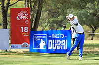 Lorenzo Gagli (ITA) during the second round of the Magical Kenya Open presented by ABSA played at Karen Country Club, Nairobi, Kenya. 15/03/2019<br /> Picture: Golffile | Phil Inglis<br /> <br /> <br /> All photo usage must carry mandatory copyright credit (&copy; Golffile | Phil Inglis)