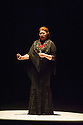 London, UK. 14.03.2014. Farruquito  (Juan Manuel Fernandez Montoya) in IMPROVISAO, at Sadler's Wells, as part of the Flamenco Festival London 2014. Picture shows: Mara Rey Navas. Photograph © Jane Hobson.