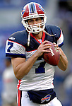 31 December 2006: Buffalo Bills quarterback J.P. Losman warms up prior to a game against the Baltimore Ravens at M&T Bank Stadium in Baltimore, Maryland. The Ravens defeated the Bills 19-7. Mandatory Photo Credit: Ed Wolfstein Photo.<br />