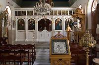 Tripoli, Libya - Greek Orthodox Church Interior, Tripoli Medina