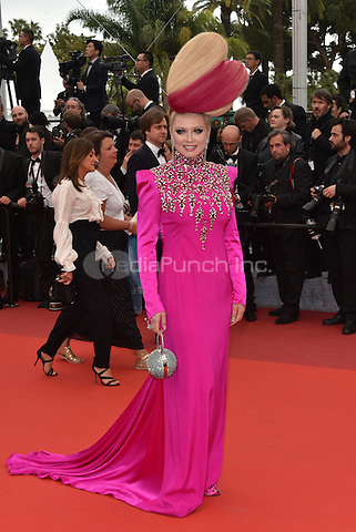 Lena Lenina arrives at 'Ma Loute' screening at 69th International Cannes Film Festival, France<br /> May 2010<br /> CAP/PL<br /> &copy;Phil Loftus/Capital Pictures /MediaPunch ***NORTH AND SOUTH AMERICA ONLY***