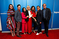"LOS ANGELES - MAR 5:  Lauren Ash, Ben Feldman, America Ferrera, Judith Light, Mark McKinney, Nichole Bloom, Nico Santos at the ""Superstore"" For Your Consideration Event on the Universal Studios Lot on March 5, 2019 in Los Angeles, CA"