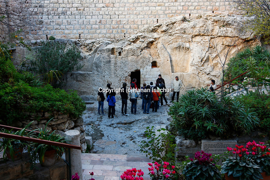 The Garden Tomb in East Jerusalem