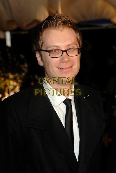 STEPHEN MERCHANT.British Comedy Awards 2006, London Television Studios, London, UK. - Arrivals.December 13th, 2006.headshot portrait Steven glasses.CAP/PL.©Phil Loftus/Capital Pictures